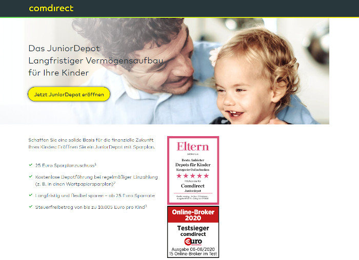 Junior Depot Comdirect